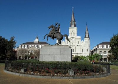 New Orleans Saints - Jackson-Square-in-New-Orleans