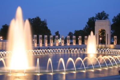 Washington Redskins - World-War-II-Memorial-DC