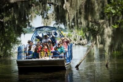 New Orleans Saints - Swamp Tour