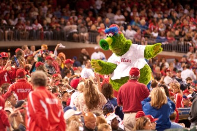 Philadelphia Eagles - Citizens_Bank_Park & Philly Phanatic