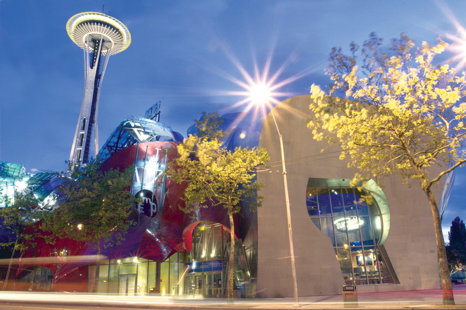 Seattle Seahawks - EMP exterior