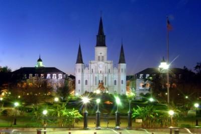 New Orleans Saints - jackson_square_at_twilight