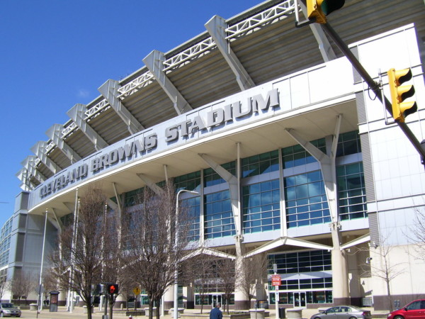 The Great Lakes Tour - Cleveland Browns Stadium
