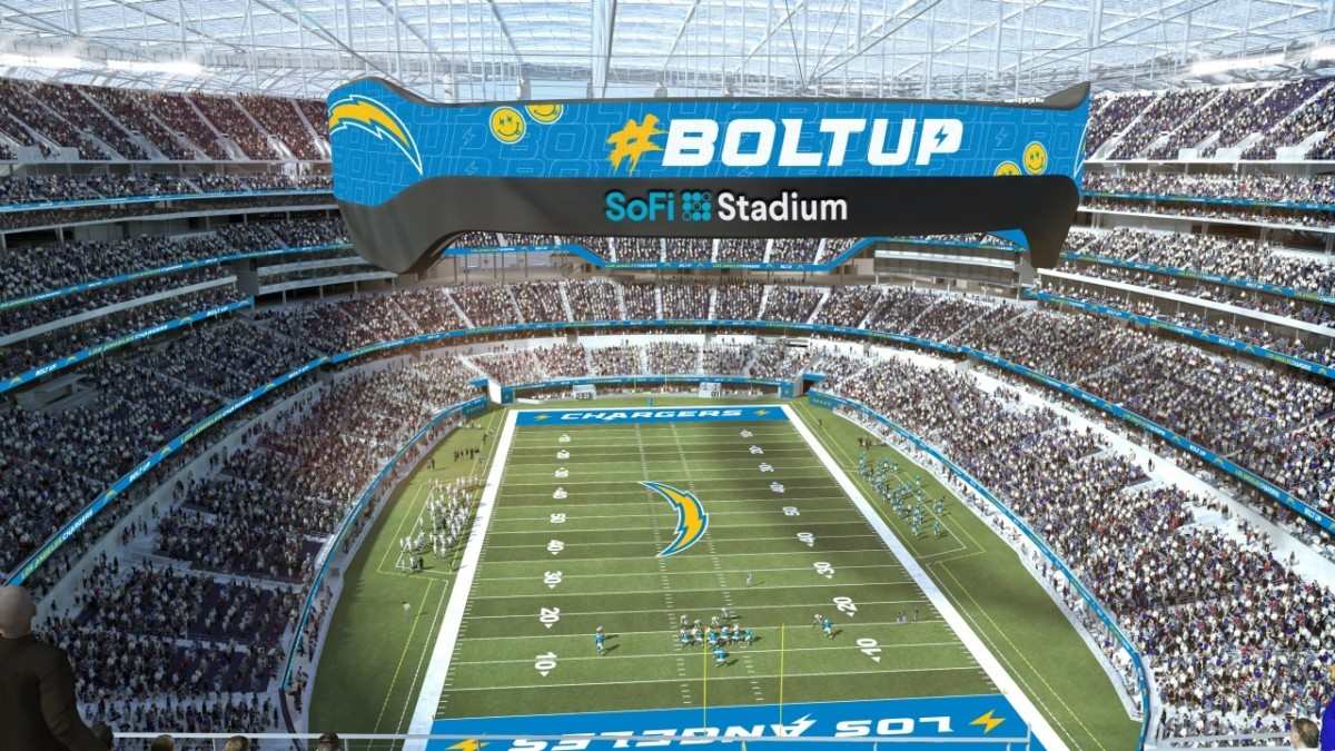 Touchdown Trips |Los Angeles Chargers | SoFi Stadium Seating Chart