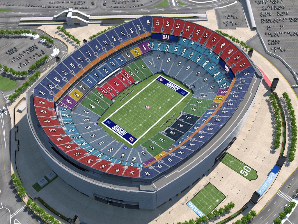 Touchdown Trips   New York Giants   MetLife Stadium Seating Chart
