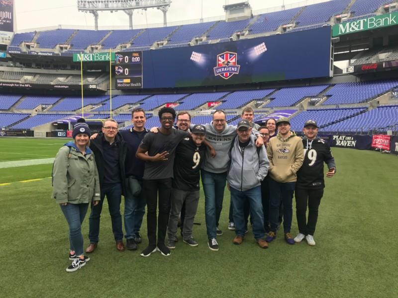 UKRavens Group Tour | Baltimore, Maryland