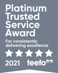 Super Bowl Package   Feefo Platinum Service Award